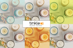 Romantic Scented Candles by Tinkleo