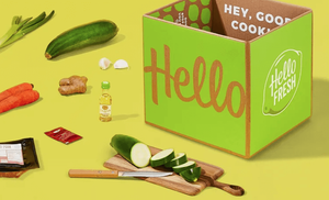 Home Cooked Meal Delivery Gift Card from HelloFresh
