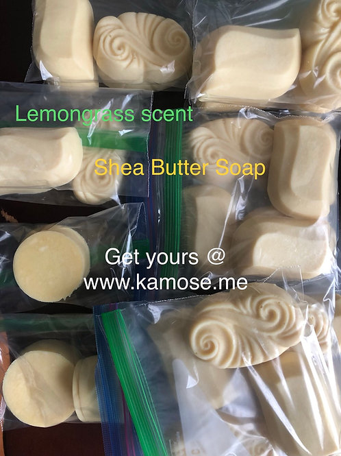 Shea Butter soap 4 pack