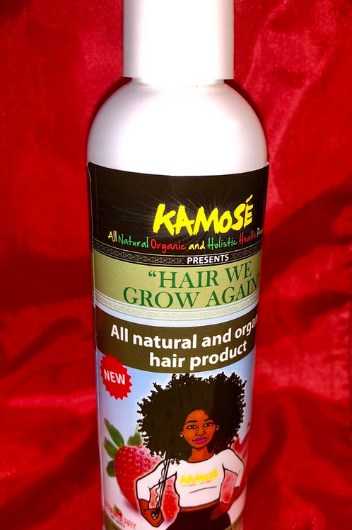 """Hair We Grow Again"" all natural organic all in 1 hair care ."
