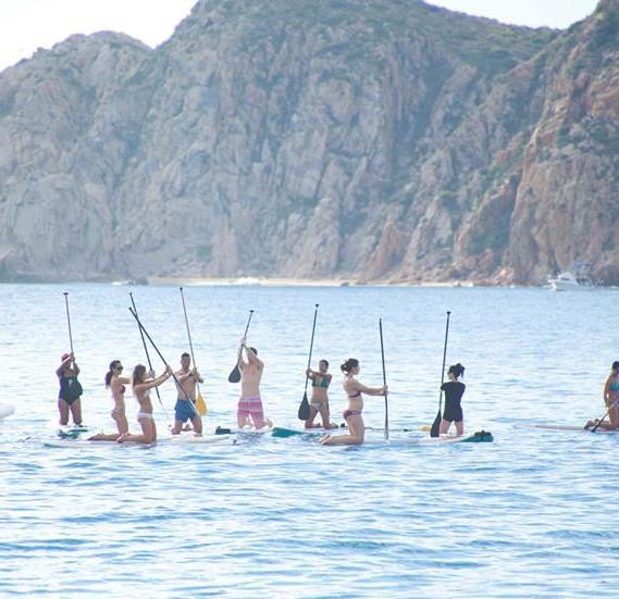 SUP Pilates Cabo 2014