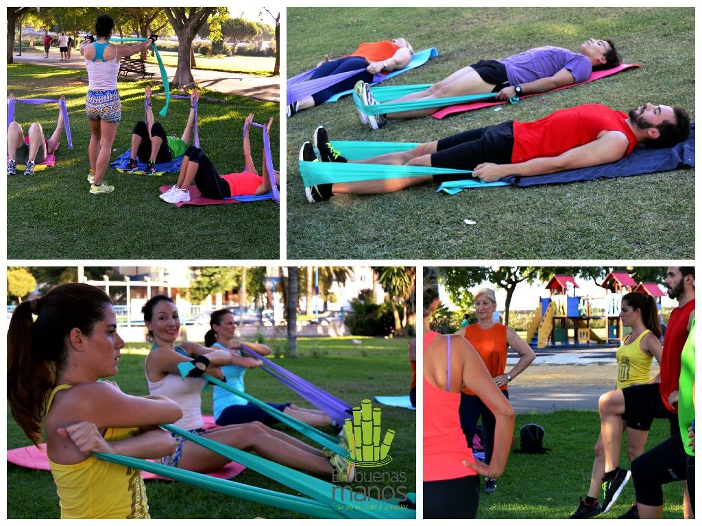 Pilates at Cadiz, Spain 2015