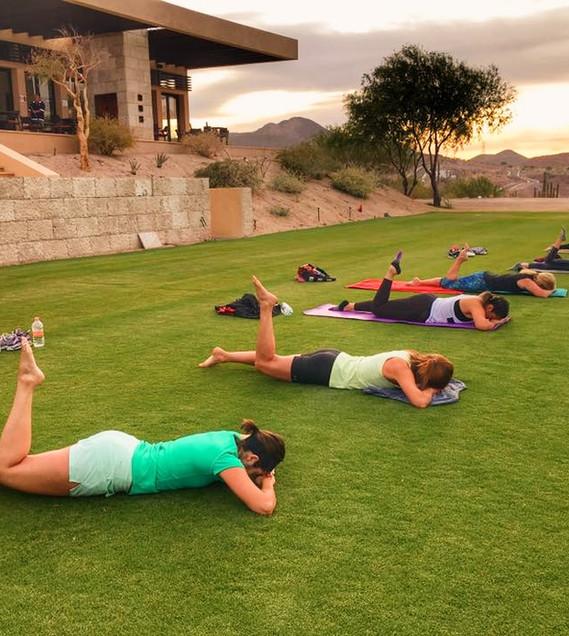 Pilates at Golf Club 2017