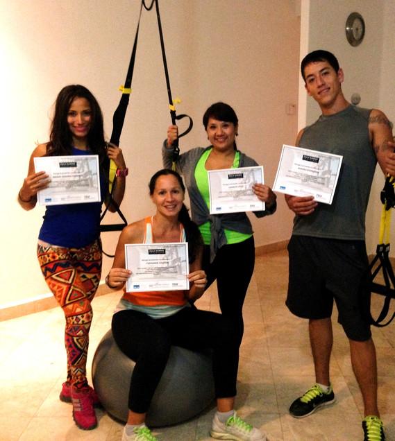 Pilates Suspension Training 2013