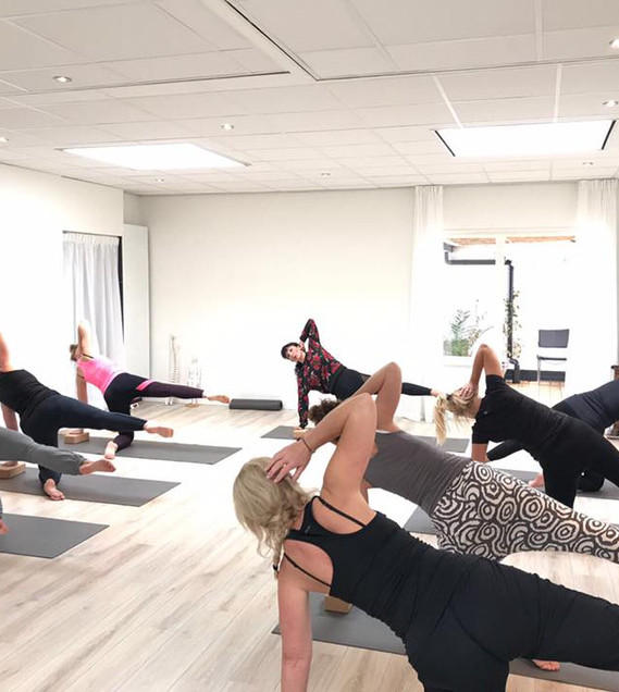 Pilates Workshop in The NL 2017