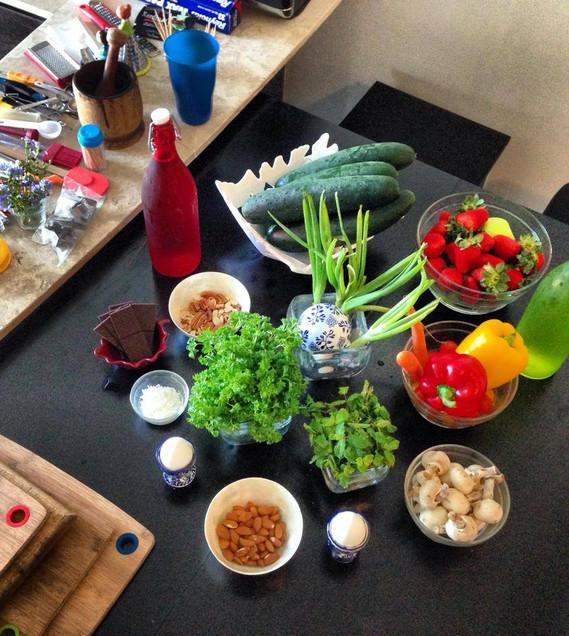 Home Routine & Fresh snacks 2014