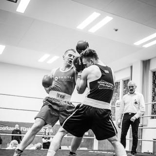 Sport - Boxkampf in Fürstenfeldbruck
