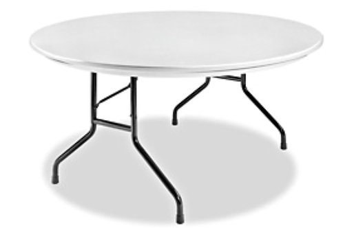 "60"" Round Plastic Table"