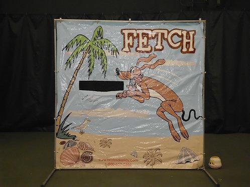 Fetch Frisbee Toss