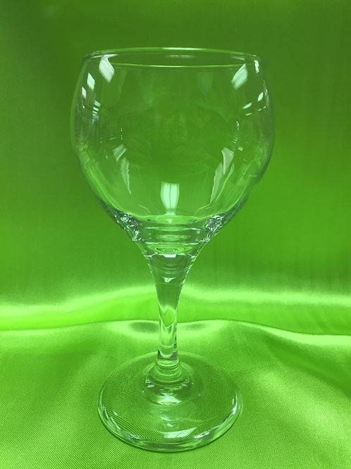 Glass-Wine Tear Drop