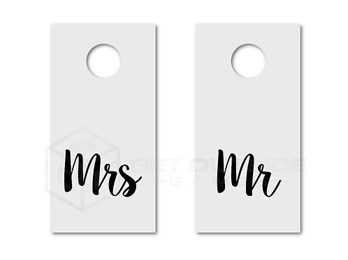 Cornhole - Mr. & Mrs.