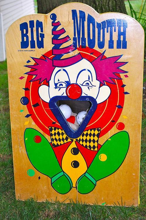 Big Mouth Throw