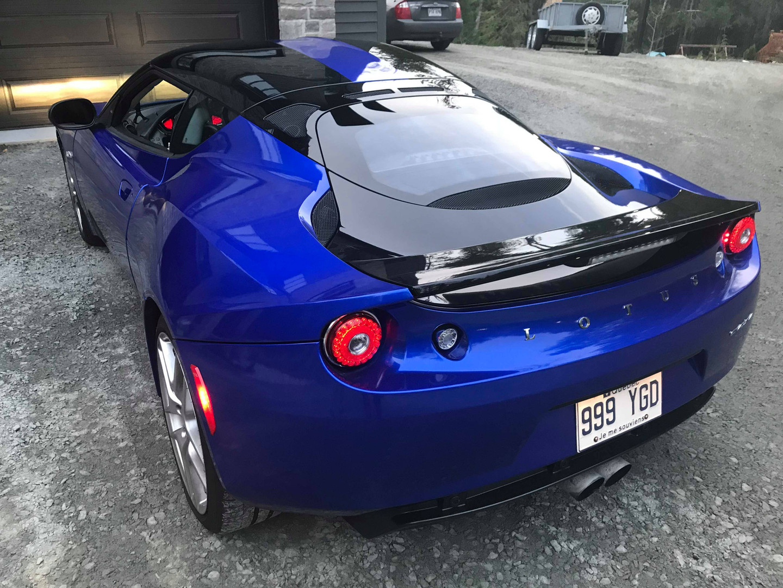 lotus full blue wrap