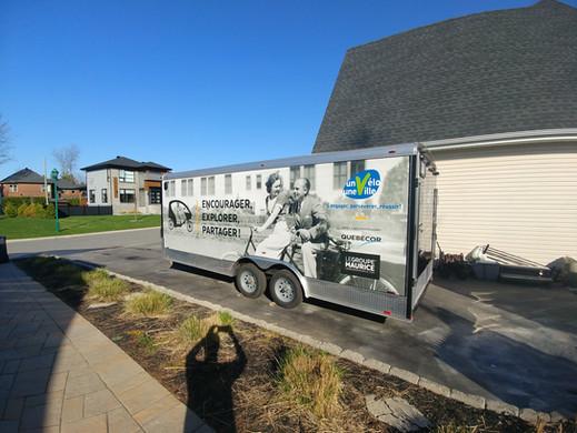 24 foot trailer - full wrap