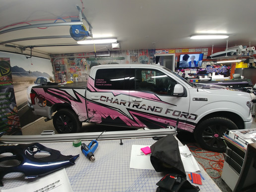 Chartrand Ford - 3/4 wrap