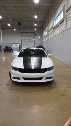stripe on charger