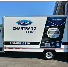 Chartrand Ford - 1/4 wrap