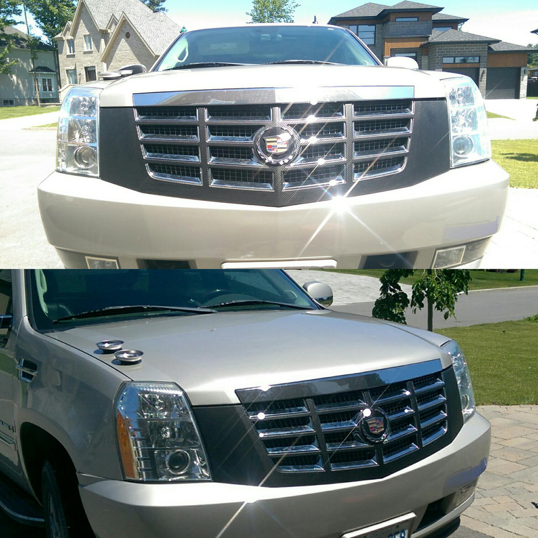 caddy front grill