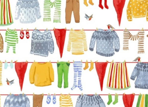 Christmas Gnome Laundry