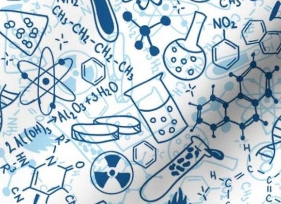 Chemistry on white