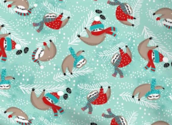 Snowy Sloths