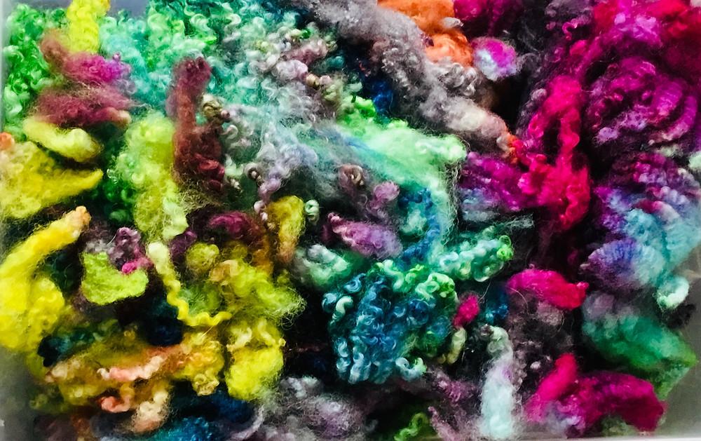 Khansenhof, kleurencurry, wol kleuren, mohair kleuren,