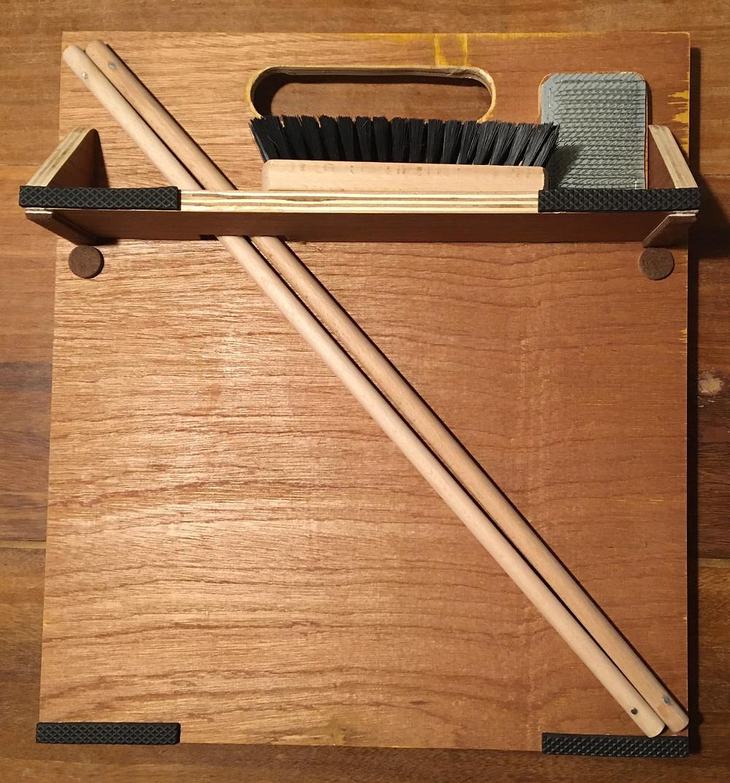 mengbord; blending board; blending wool; mengen wol;