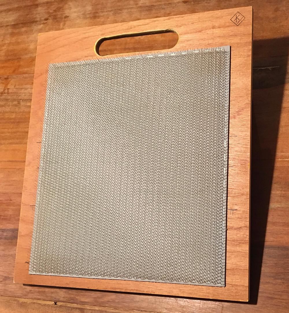 mengbord; blending board; blending wool; mengen wol