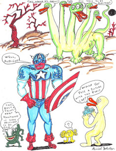 Would You Pose A Picture With the Beast, Cap?