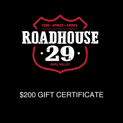 ROADHOUSE29 Gift Card
