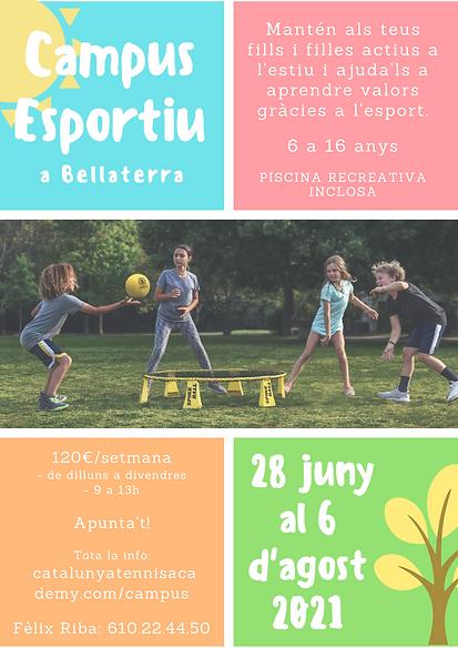 Campus Esportiu Bellaterra 2021 6 agost.