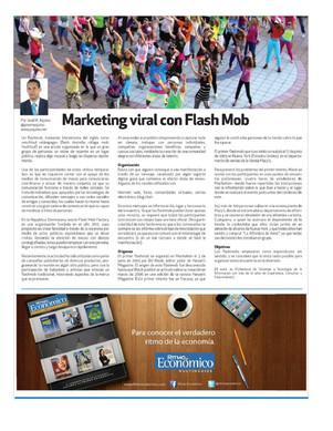 Marketing viral con Flash Mob
