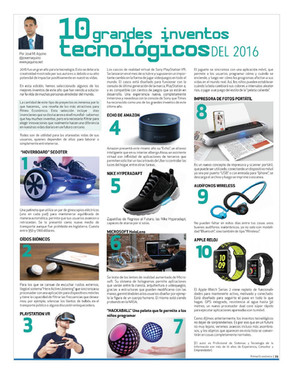 10 grandes inventos tecnologícos del 2016
