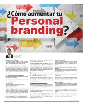 Comó aumentar tu Personal Branding?