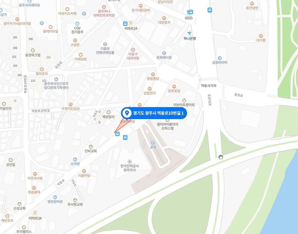 광주 마사지 구인구직 지도
