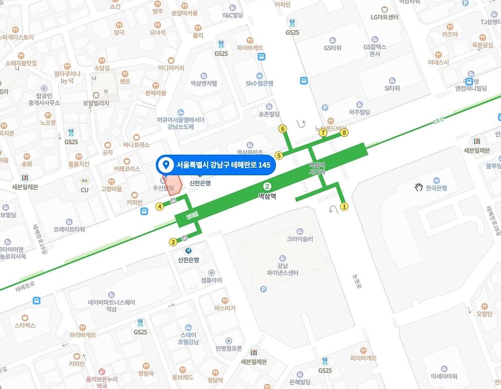 강남 마사지 구인구직 지도