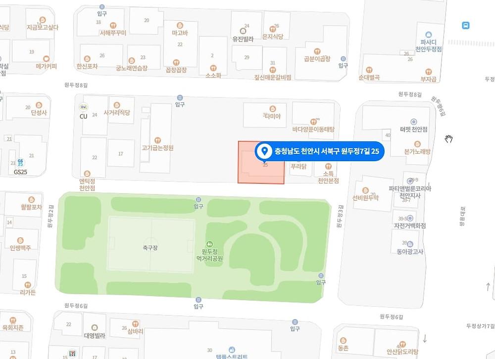 천안 고수익 알바 지도