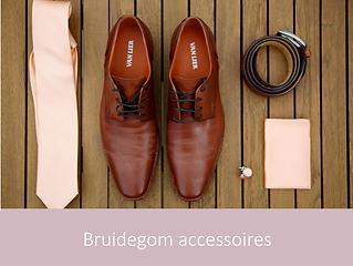 Bruidegom accessoires   YourWeddingShop