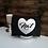 Thumbnail: Toilettas hart met naam