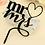 Thumbnail: Bruidstaart topper Mr & Mrs acryl