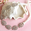 Thumbnail: Haaraccessoire steentjes zilver haarband