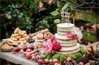 Herfst bruiloft thema