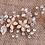 Thumbnail: Haaraccessoire hair vine goud bloem & blad