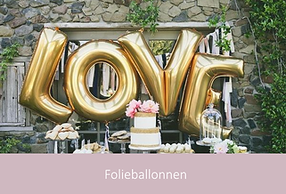 Folieballonnen voor de bruiloft