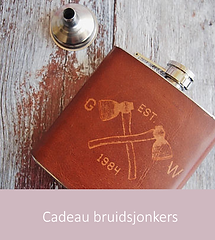 Cadeau bruidsjonkers | YourWeddingShop