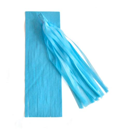 DIY Tassels sky blue