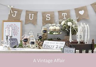 A Vintage Affair | YourWeddingShop
