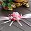 Thumbnail: Corsage roze bloemen