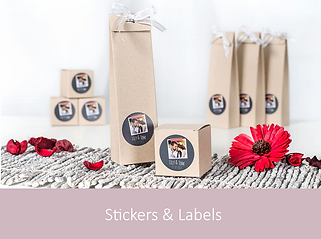 Stickers & Labels | YourWeddingShop