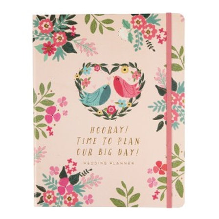 Floral wedding planner trouwdagboek